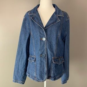Bill Blass vintage denim jacket